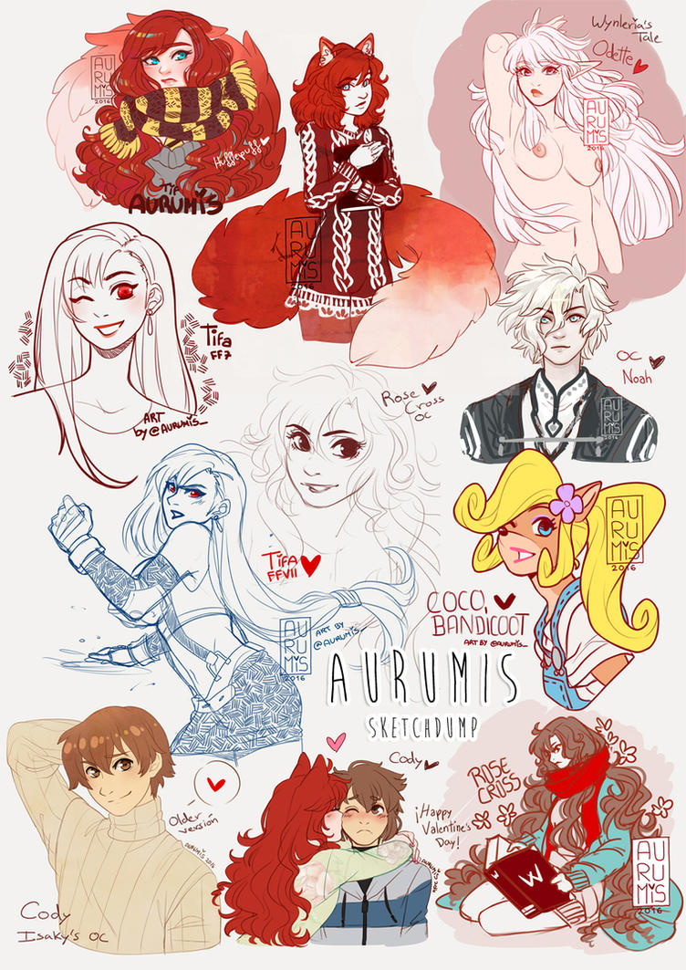 .: SketchDump 2 :. by Aurumis