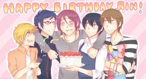 [Free!] Happy Birthday, Rin! 2/2