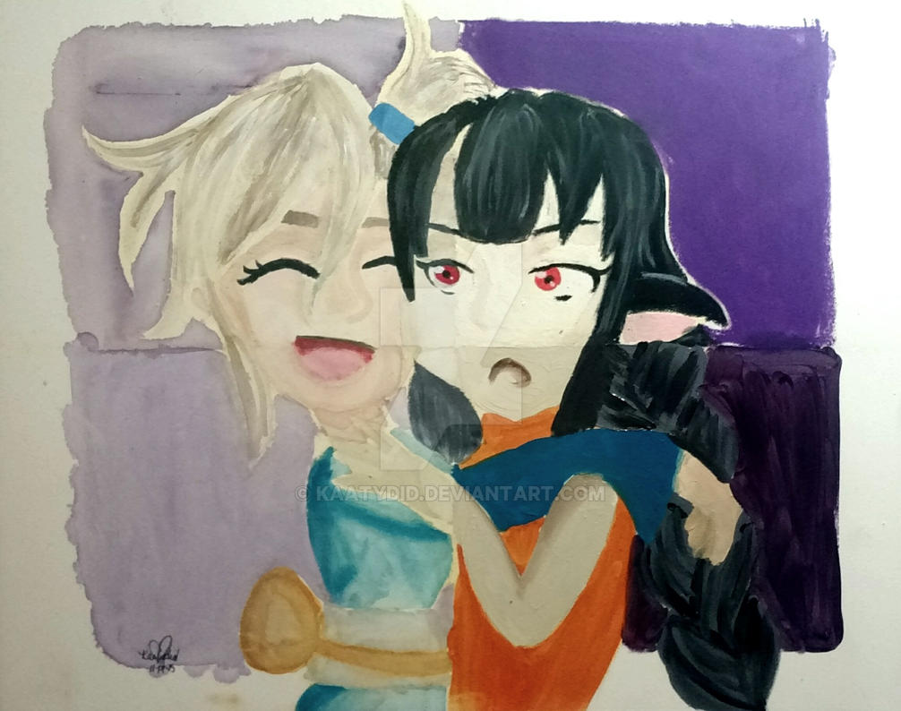 ampersand pastelbord demo too much affection by kaatydid on deviantart