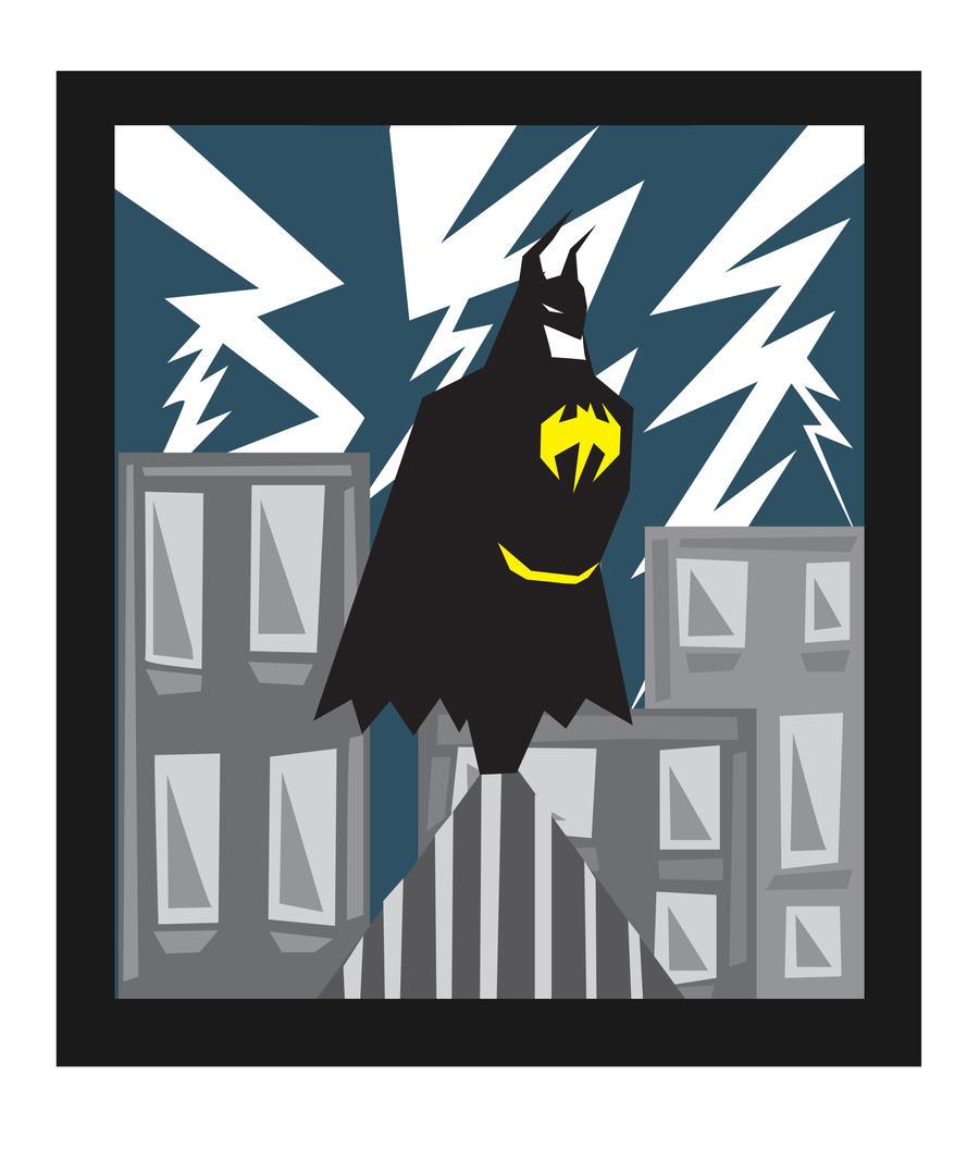 Batman for Eddy by NonoKraken