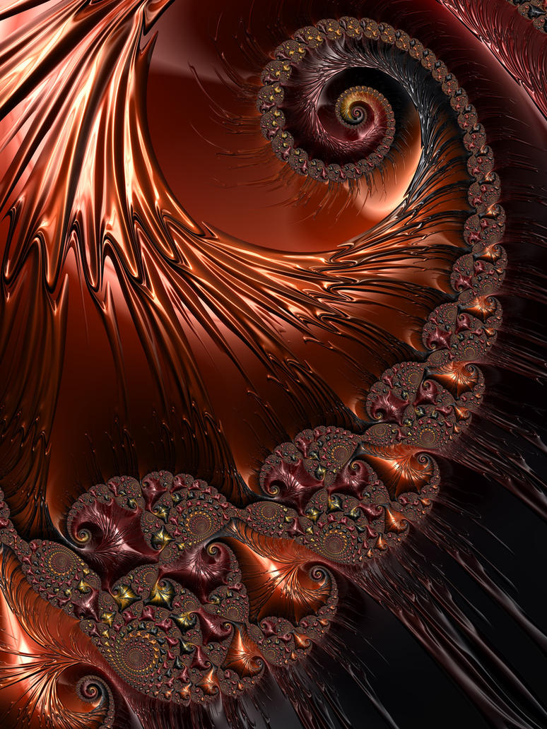Copper Spiral by theslider