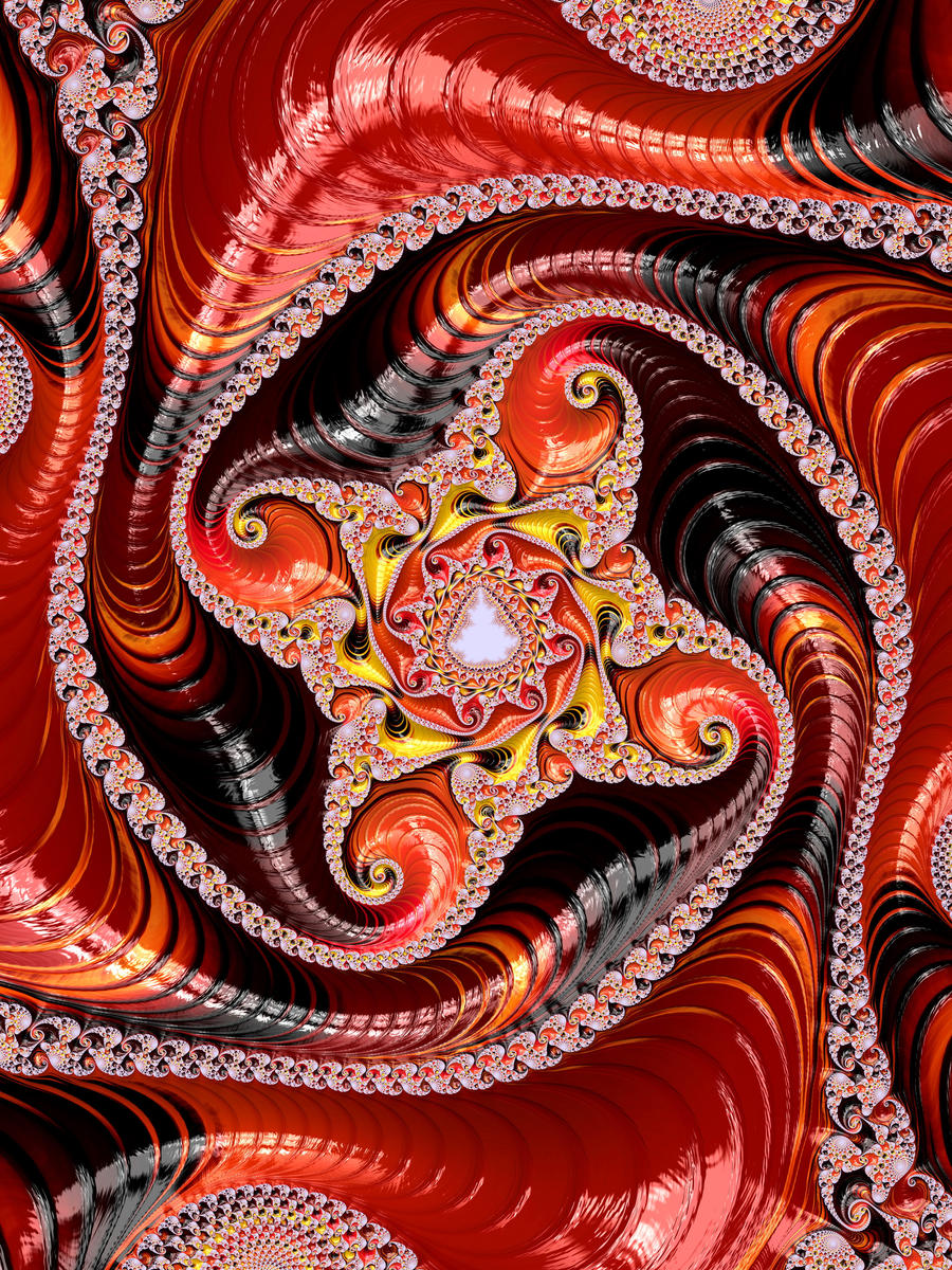 Warmy Spirals by theslider