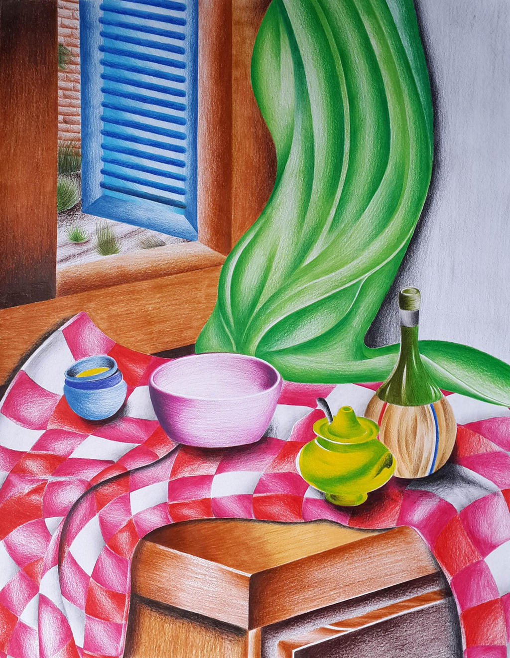 Still life with watercolor: how to draw interesting and error free 64