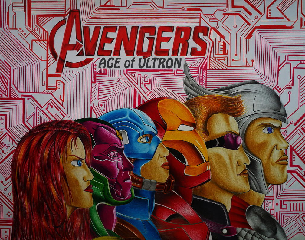 Avengers Age Of Ultron By Iloegbunam On Deviantart: Avengers Age Of Ultron By CursedMadara On DeviantArt
