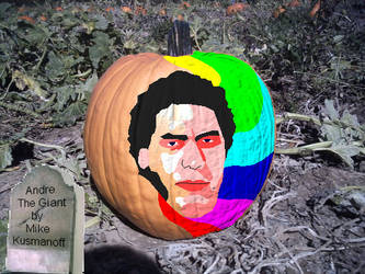 Andre Pumpkin by surfingthechaos