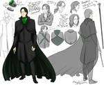Snape Headmaster Design