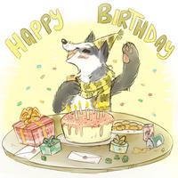 Birthday Badger