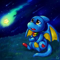 Commission: Fallen Star Shoyru