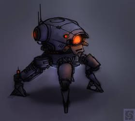 ArtilleryRobot by Callesw