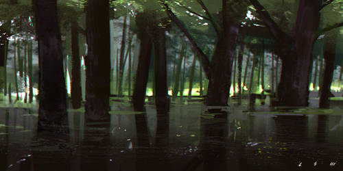 swamp by Callesw