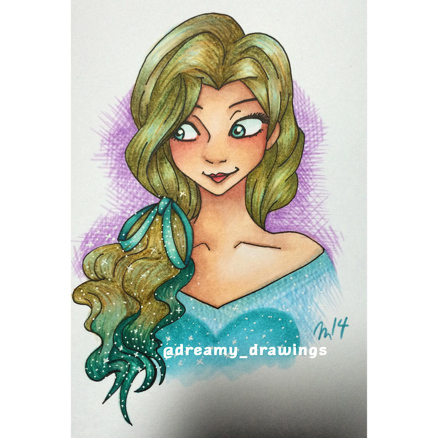The Cold Never Bothered Me Anyway  by dreamy-drawings