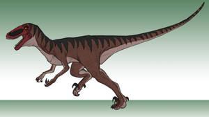 Dinovember Day 7: Utahraptor Red