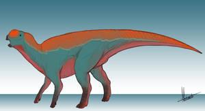 Dinovember Day 17: Muttaburrasaurus