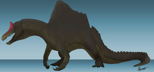 Dinovember Day 23: Spinosaurus