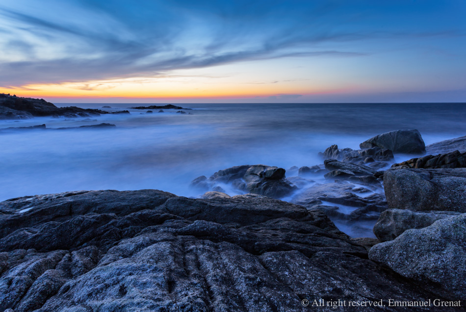 Sunset in Corsica by Yeoman2b