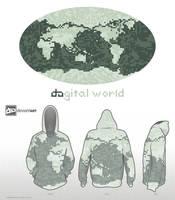 8-bit dAgital world by kaztah