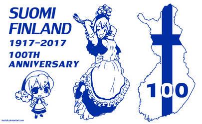 Suomi Finland 100 by kaztah