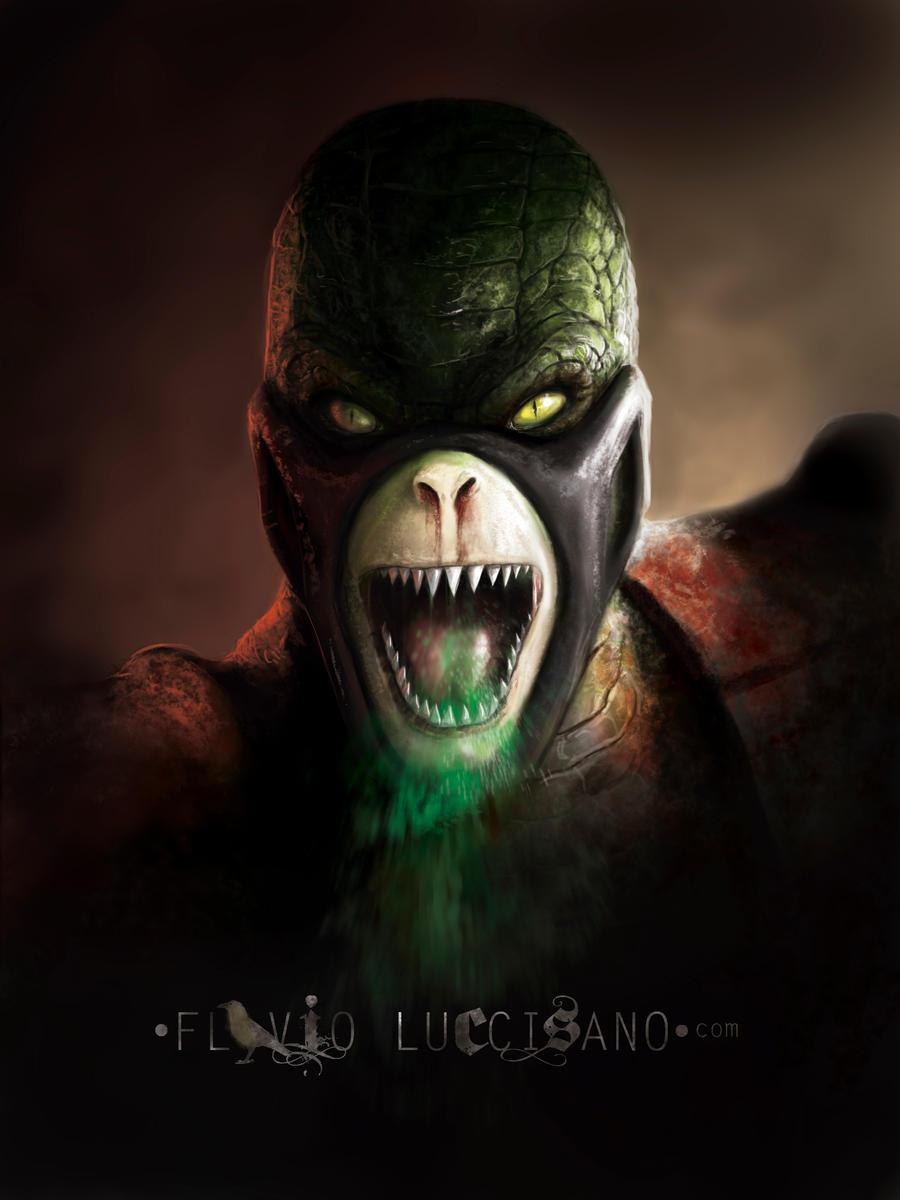 Reptile by flavioluccisano