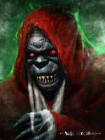 Mumm-Ra  (the demon-sorcerer) by flavioluccisano