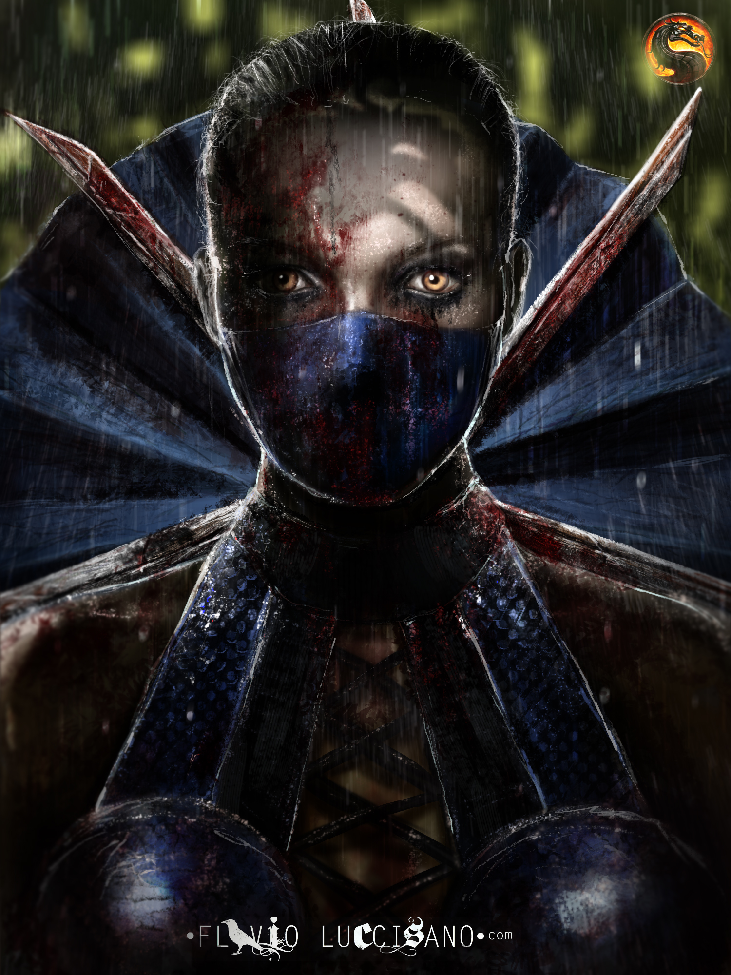 PRINCESS KITANA| Mortal Kombat. Personal version. by flavioluccisano