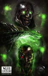 Ermac (Mortal Kombat X) by flavioluccisano