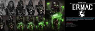 Ermac (Mortal Kombat X) STEP BY STEP