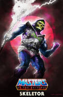 Skeletor - (toyline) by flavioluccisano