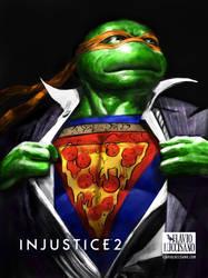 Michelangelo (Injustice 2) by flavioluccisano