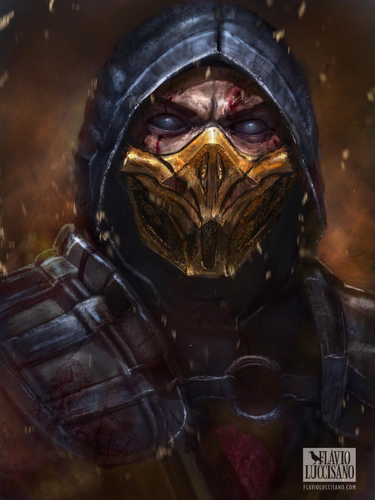 Scorpion MK11 by flavioluccisano