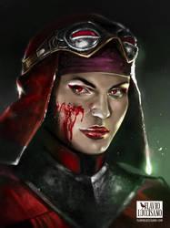 Skarlet (Mortal Kombat 11) by flavioluccisano