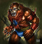 Beast Man by flavioluccisano