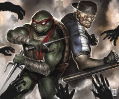 Raphael and Kurtis Stryker vos Zombies!