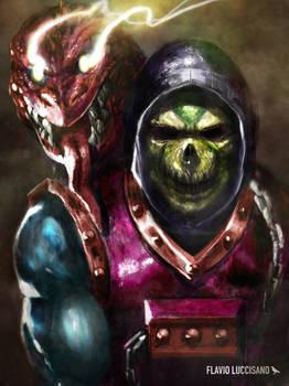 Dragon Blaster Skeletor