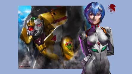 Rei Ayanami/ Eva 00 / wallpaper