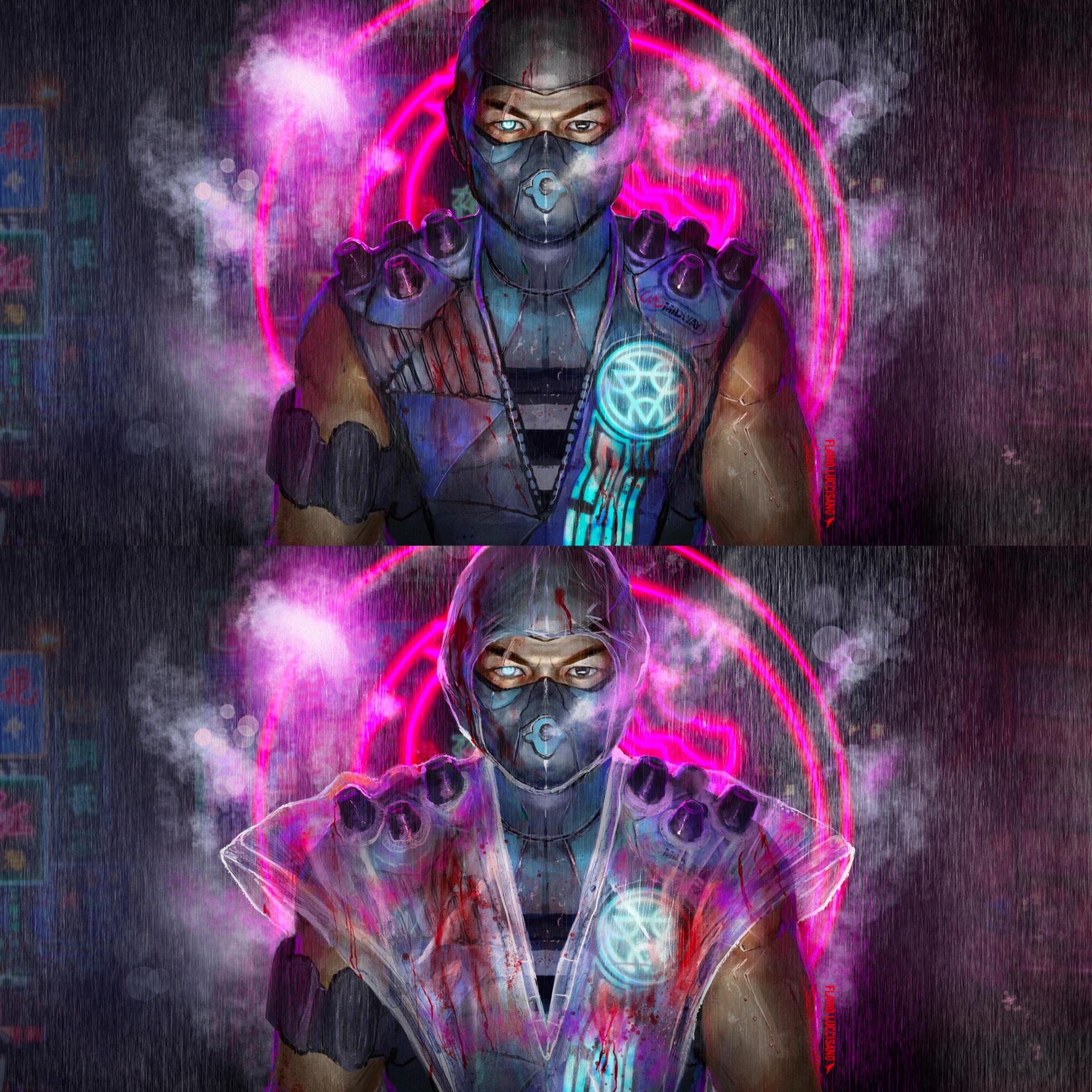 Sub Zero (cyberpunk concept)
