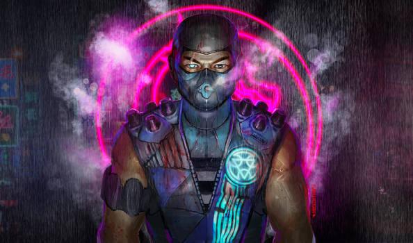 Sub Zero (cyberpunk concept )