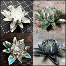 Silver Lily- Work in Progress
