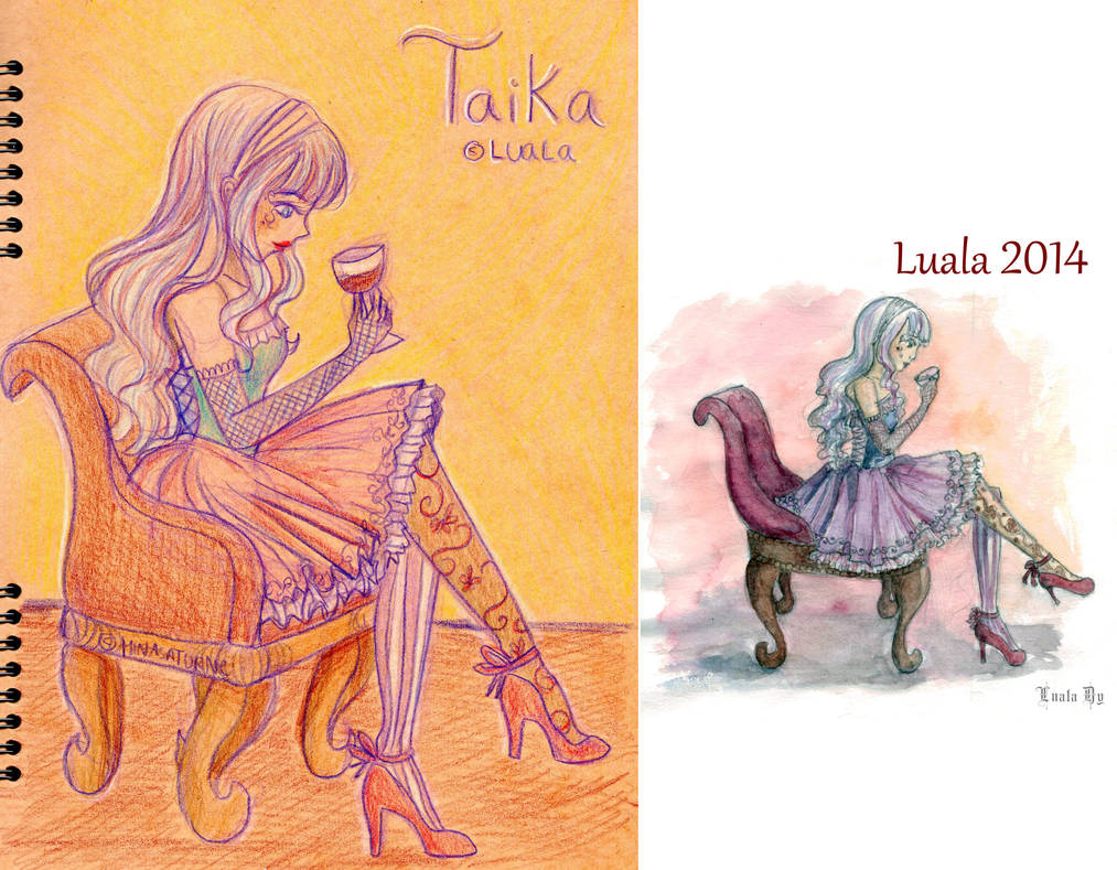Remake from Mina to Luala by Minasaturne