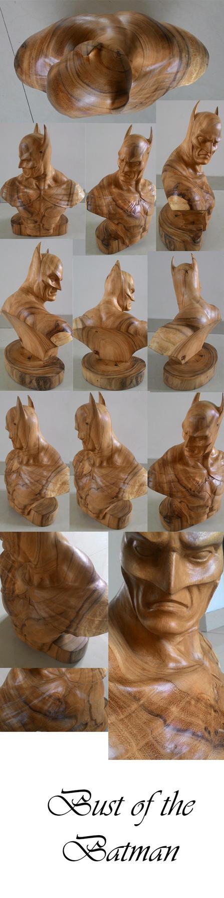 Batman bust by armb8990