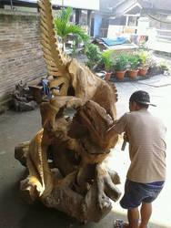 A Wood Raptor
