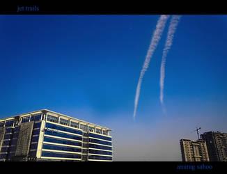 Jet trails by kitu123
