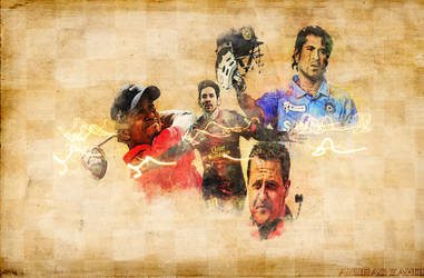 A COLLAGE DEDICATED TO THE BEST SPORTSMEN