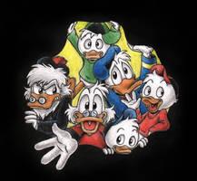 Disney Ducks by Demona-Silverwing