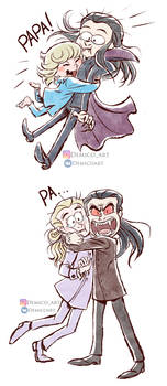 Vampire hugs