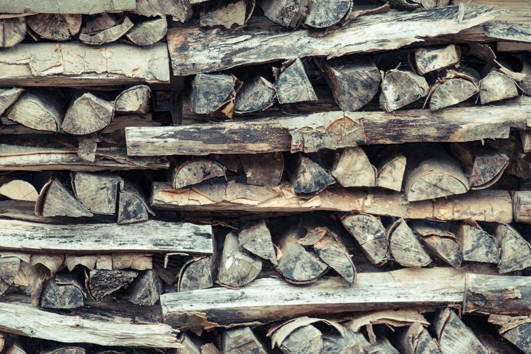 woodpile by stupidduck