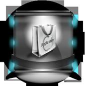 lightbleue Applestar icon