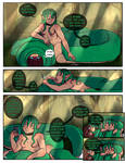 LS: snake meets girl p83 by LostSouls99