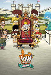 The Loud House Movie (Key Art, Poster fanmade)