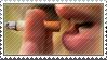 Stamp -  smoking by xCaliAngexlSTAMPSx