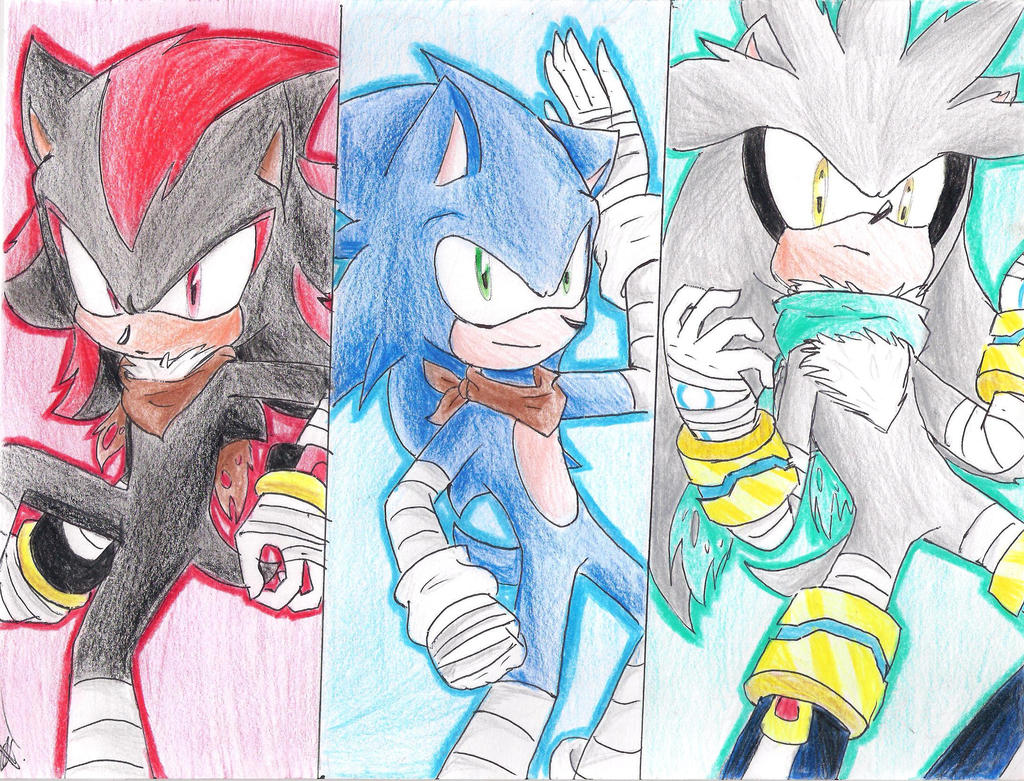 Sonic boom wallpaper sonic shadow and silver by zury2642 on deviantart - Shadow sonic boom ...